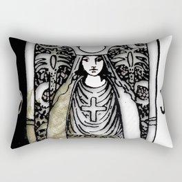 Glamour Tarot The High Priestess Rectangular Pillow