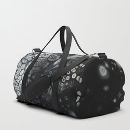 Rock Salt - Original Abstract Painting Duffle Bag