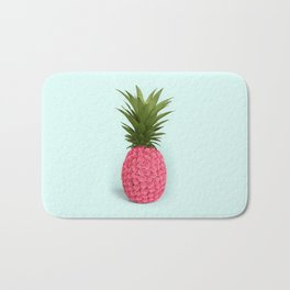 PINEAPPLE ROSES Bath Mat