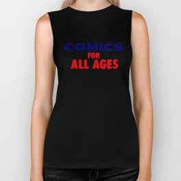 Comics for All Ages Biker Tank