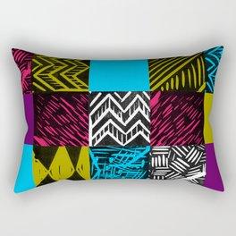 Colour block bright Rectangular Pillow