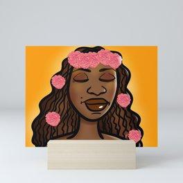 Black September Queen Mini Art Print