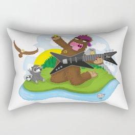 Bigfoot Rocks! Rectangular Pillow