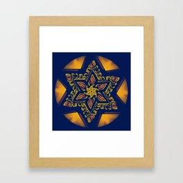 Hanukkah Star of David - 2 Framed Art Print