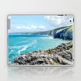 Port Isaac Bay - From Castle Rock Laptop & iPad Skin
