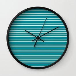 Mod Stripe Wall Clock