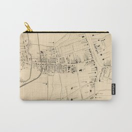 Vintage Map of White Plains NY (1867) Carry-All Pouch