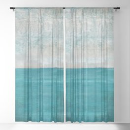 The Second Antidote Sheer Curtain