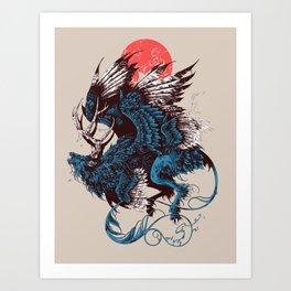 Peryton Art Print
