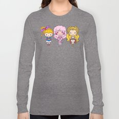 Lil' CutiEs: 80s Ladies Long Sleeve T-shirt