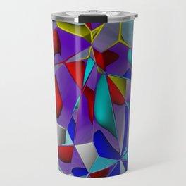 crackled -2- Travel Mug