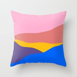 Verano II Throw Pillow