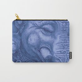 Ganesha blue Carry-All Pouch