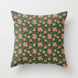 Primroses 3 Throw Pillow