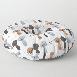 poodle allcolor Floor Pillow