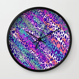 LEO SWOOSH Wall Clock