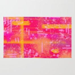 Abstract - Sunset- Laura Wayne Design Rug