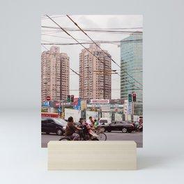 Traffic jam Mini Art Print