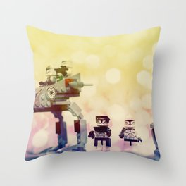 The Lost Unit Throw Pillow