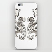 baroque iPhone & iPod Skins featuring Baroque by Raeesa Brey