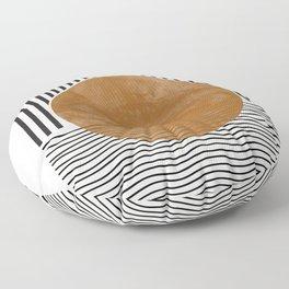 Abstract Modern Poster Floor Pillow