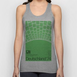 World Cup: West Germany 1974 Unisex Tank Top