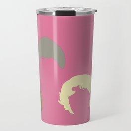 Golden Girls Inspired Hair (pink) Travel Mug