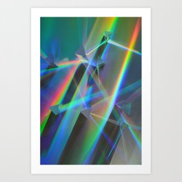 Diffracted Dreams Art Print