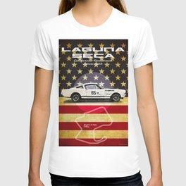 Laguna Seca Mustang Vintage T-shirt