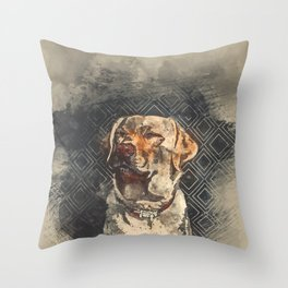 Labrador Throw Pillow