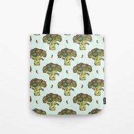 brilliant broccoli Tote Bag