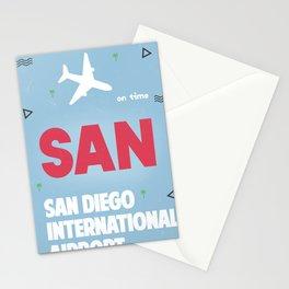San Diego California Stationery Cards