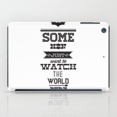 dark knight iPad Case