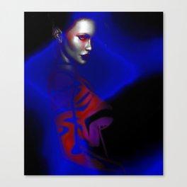 FEMININE MODERN ART   VIBRANT DESIGN   ABSTRACT   CONTEMPORARY ART Canvas Print