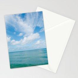 Florida Ocean View V Stationery Cards