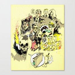 90's action movie Canvas Print