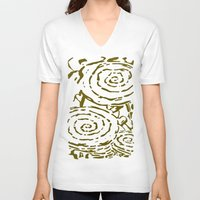 roses V-neck T-shirts featuring Roses -  by Alan Hogan