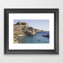 This sea is around us Framed Art Print