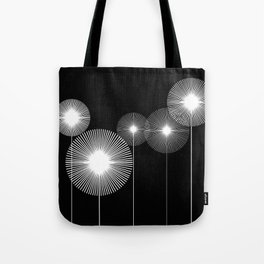 lines_and_dots Tote Bag