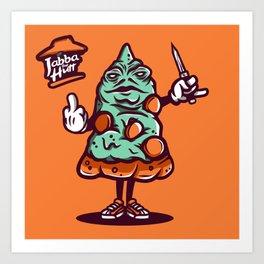 Jabba The Hutt Art Print
