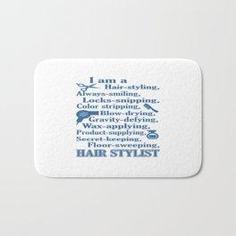 I am a Hair Stylist Bath Mat