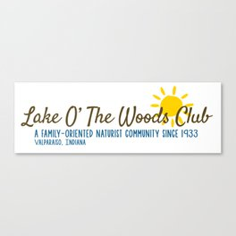 Lake O' The Woods Canvas Print