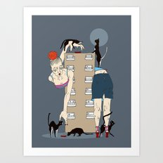 A Lady of a Certain Age Art Print