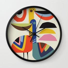 Pelican Love Wall Clock