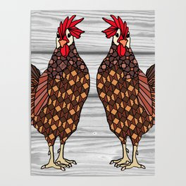 Chickens Poster