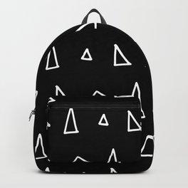 Cute Black Pattern Backpack