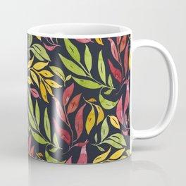 Loose Leaves - warm colors Coffee Mug