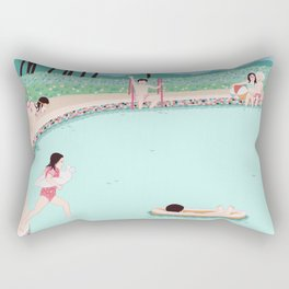 Water fun Rectangular Pillow