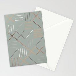 Geometric Shapes 08 Stationery Cards