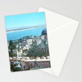 Akka. Carmel range across the bay Stationery Cards